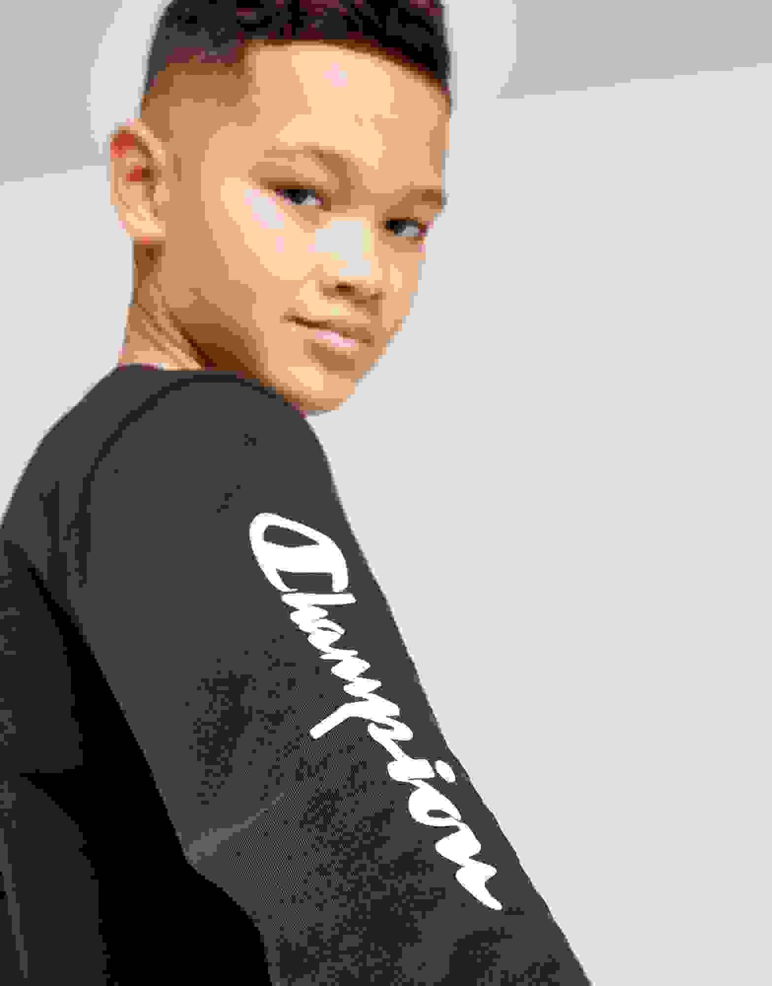 Champion de légende T-shirt à manches longues junior