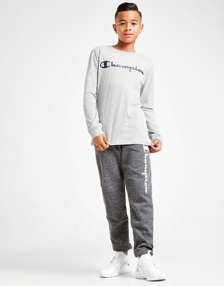 Champion Legend Logo Long Sleeve T-Shirt Junior