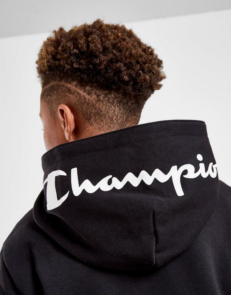 Champion Tape Full Zip Hooded Tracksuit Junior
