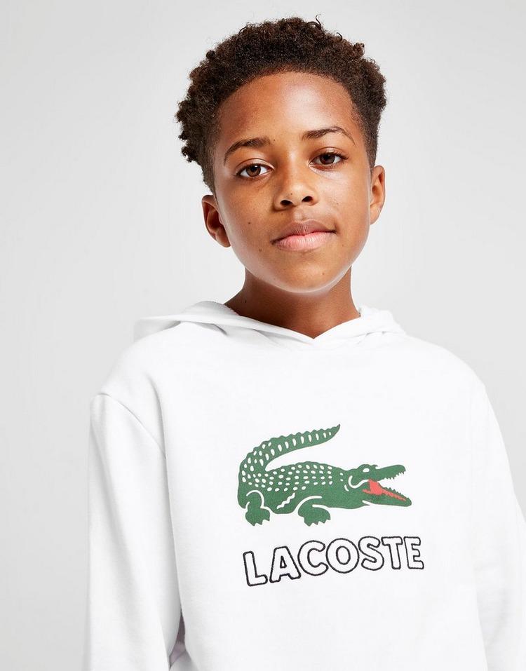 Lacoste Croc Logo Hoodie Junior