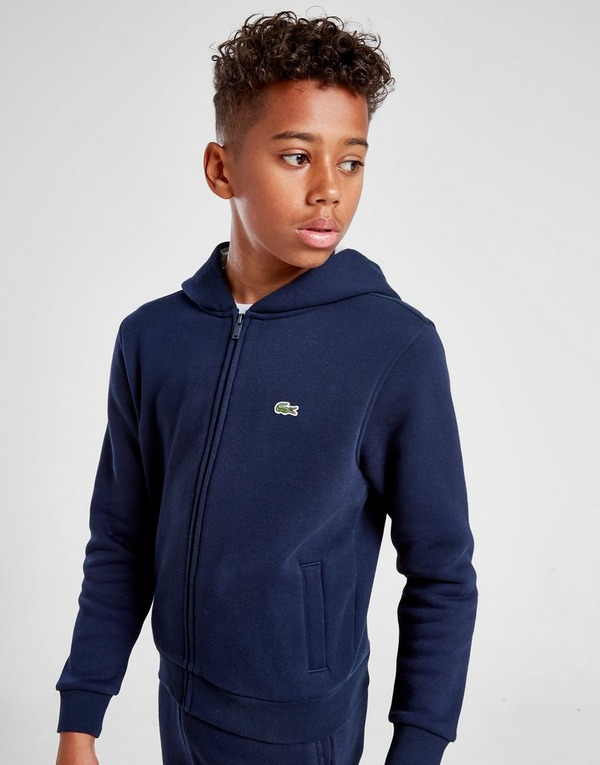 Lacoste Full Zip Fleece Hoodie Junior