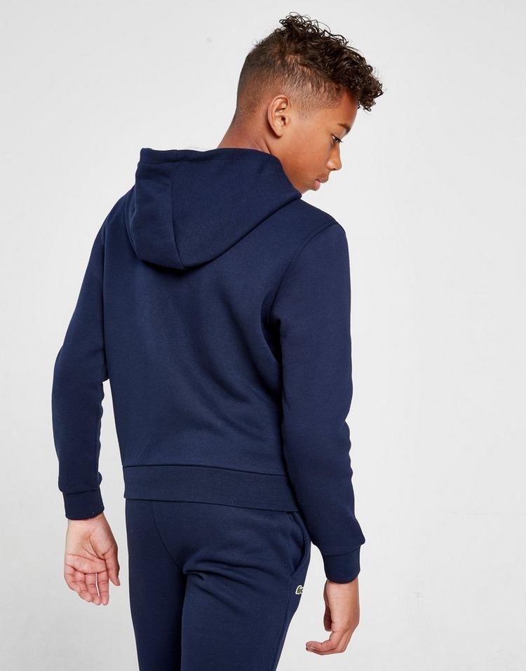 Lacoste chaqueta con capucha Fleece júnior