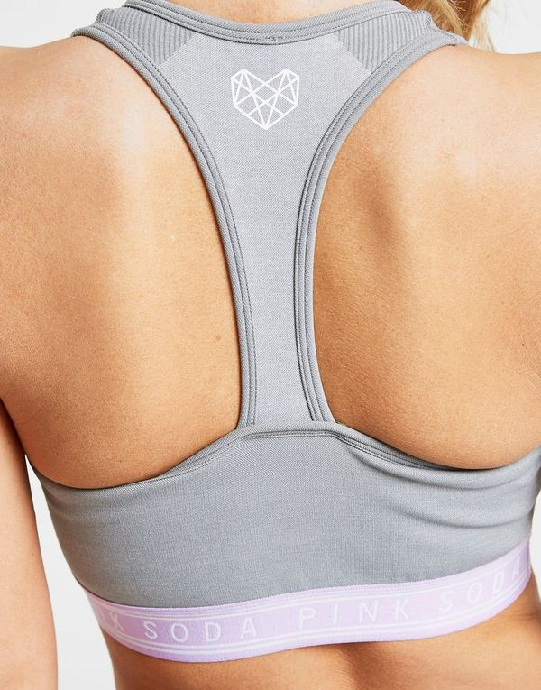 Pink Soda Sport Seamless Sports Bra