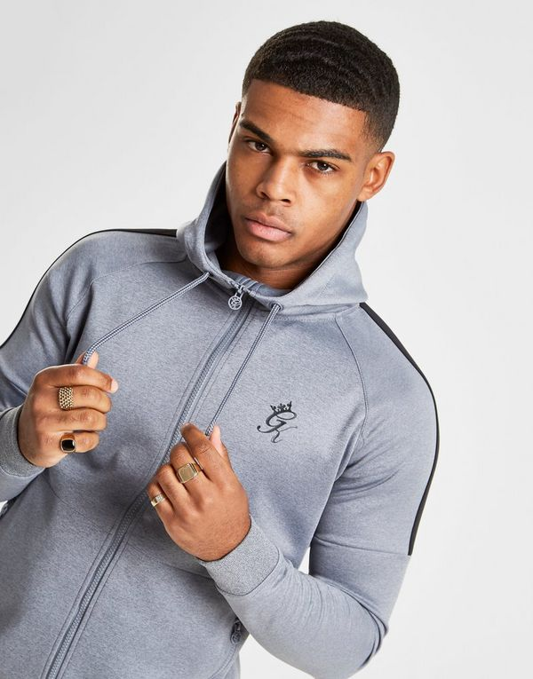 0e8f6939f06f1 Gym King Core Plus Full Zip Poly Hoodie | JD Sports