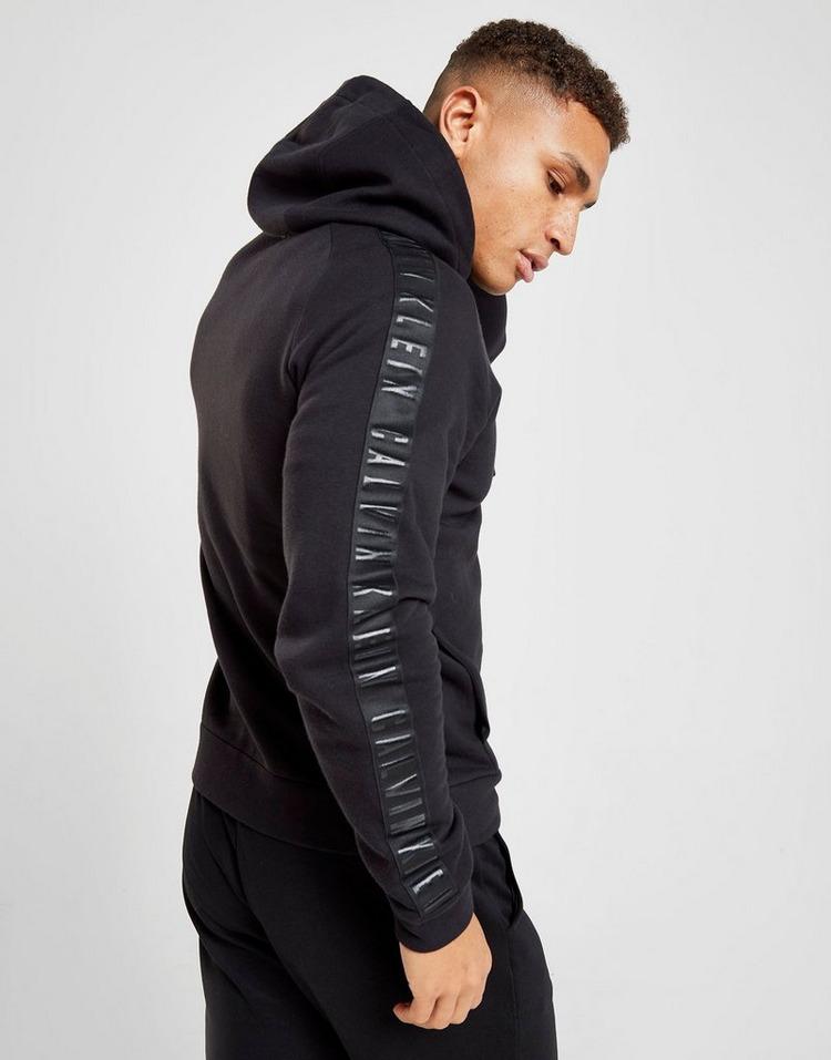 Calvin Klein Performance Tonal Tape Zip Through Hoodie