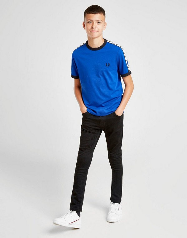 Fred Perry Small Logo Taped Ringer T-Shirt Junior