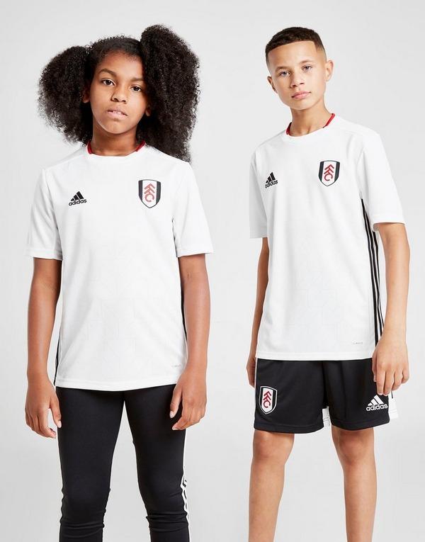 adidas Fulham FC 2019/20 Home Shirt Junior