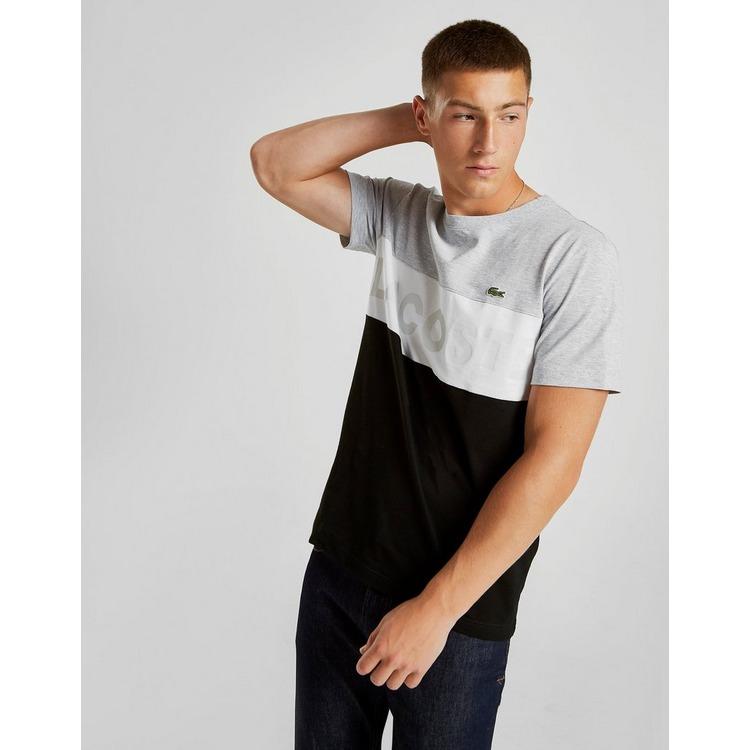 Lacoste Colour Block Linear T-Shirt