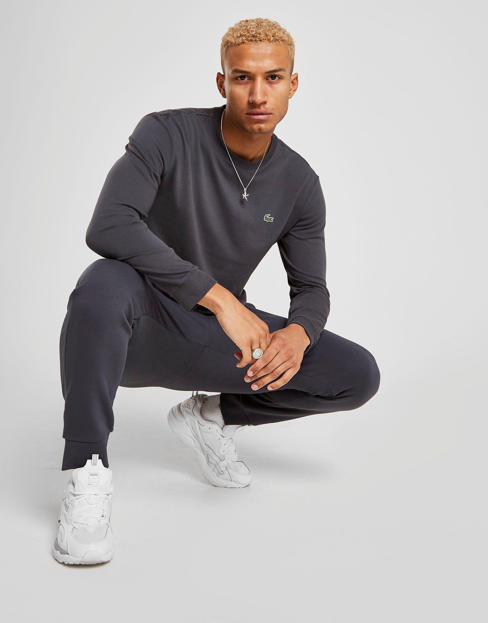 45b63be269 Lacoste Croc Long Sleeve T-Shirt | JD Sports