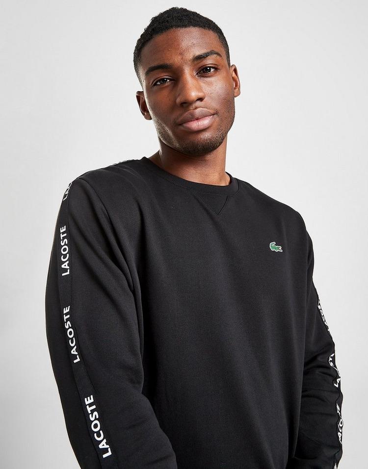 Lacoste Tonal Tape Crew Sweatshirt