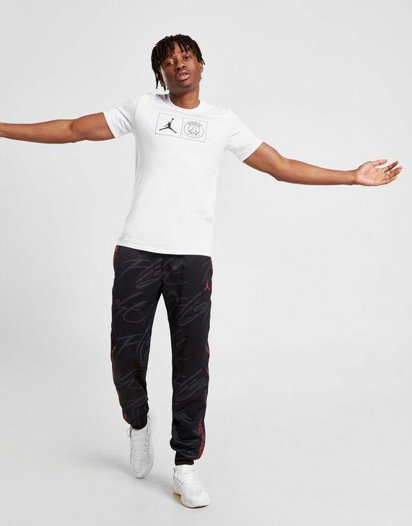 best sneakers 6cecc 909f6 Jordan x Paris Saint Germain Jock Tag T-Shirt   JD Sports