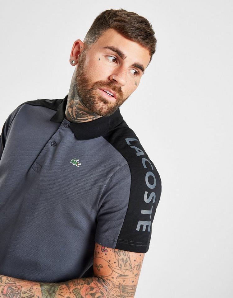 Lacoste Colour Block Linear Shoulder Logo Polo Shirt