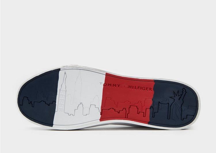 Tommy Hilfiger Flag Detail Leather