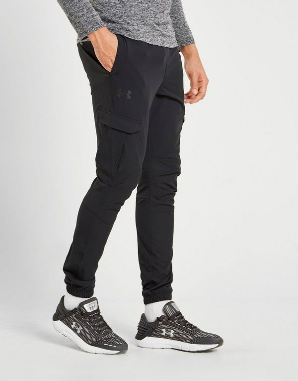 be072ddf32 Under Armour WG Woven Cargo Track Pants | JD Sports