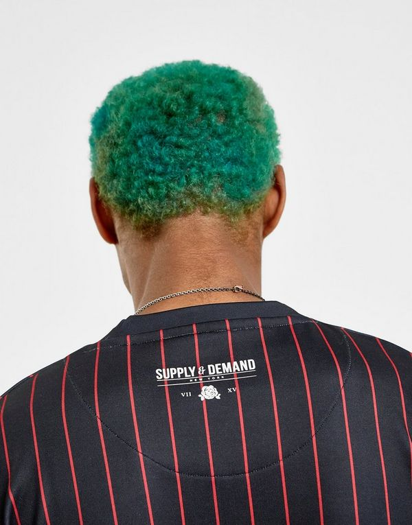 Supply & Demand Varsity Pinstripe T-Shirt