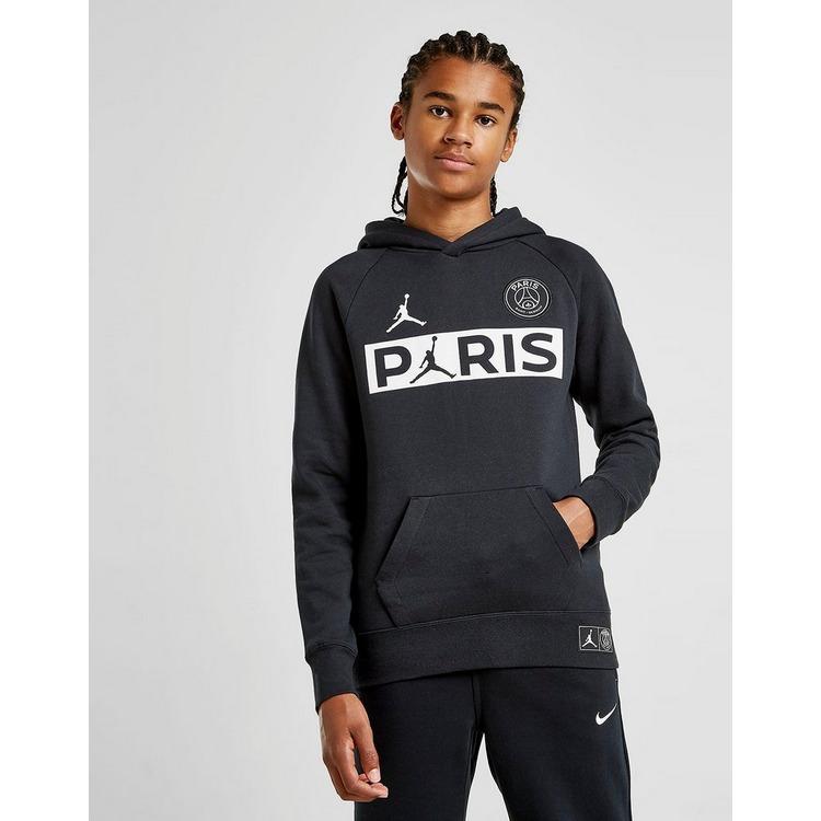Jordan sudadera con capucha x Paris Saint Germain Wordmark júnior