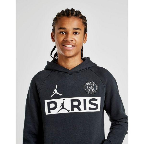 Jordan x Paris Saint Germain Wordmark Hoodie Junior