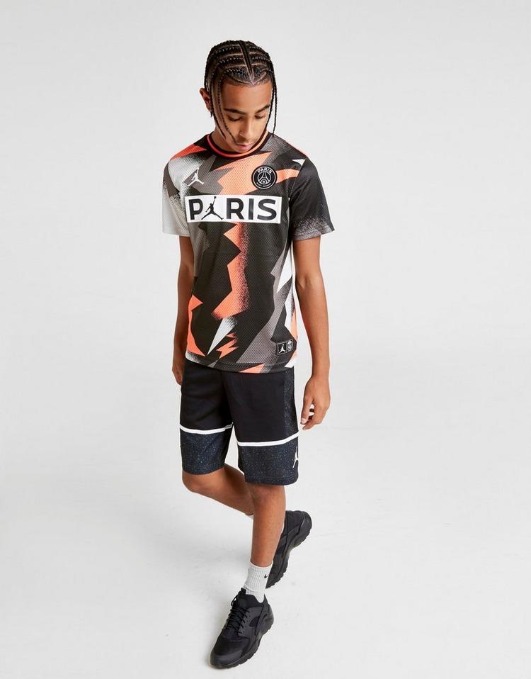 Jordan Paris Saint Germain Mesh T-Shirt Junior