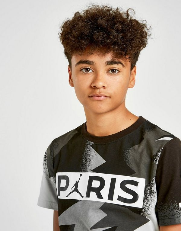 Jordan x Paris Saint Germain Mesh T-Shirt Junior