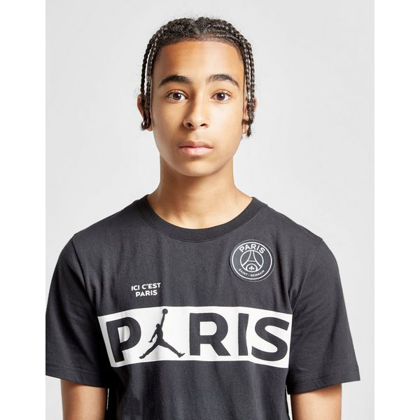 Jordan x Paris Saint Germain Wordmark T-Shirt Junior