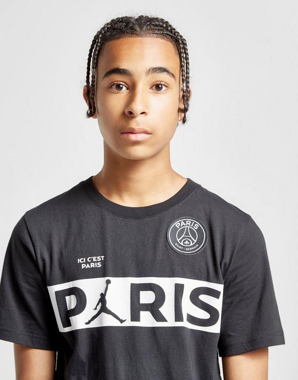 Jordan x Paris Saint Germain Wordmark T-Shirt Junior