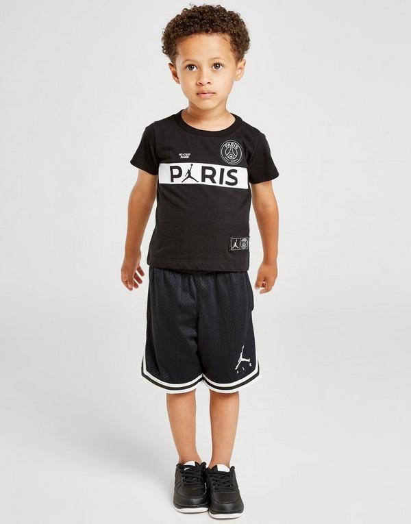 Jordan camiseta x Paris Saint Germain Wordmark para bebé