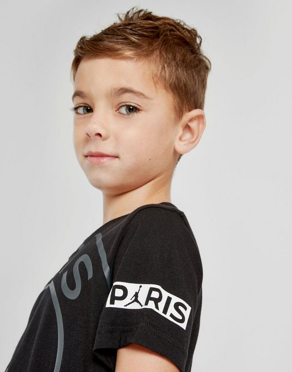 Jordan x Paris Saint Germain Logo T-Shirt Children