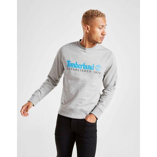 Timberland Est.73 Linear Logo Crew Sweatshirt