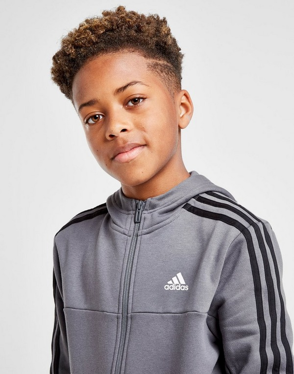 Koop Grijs adidas Badge of Sport Fleece Full Zip Hoodie