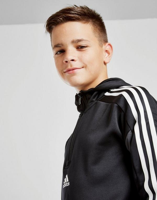 adidas Match 1/2 Zip Hoodie Junior