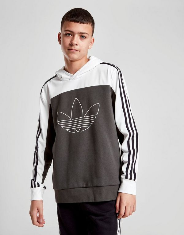 adidas Originals Spirit Poly Overhead Hoodie Junior