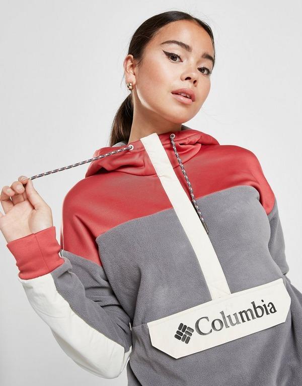 Columbia Colour Block Polar Fleece Hoodie