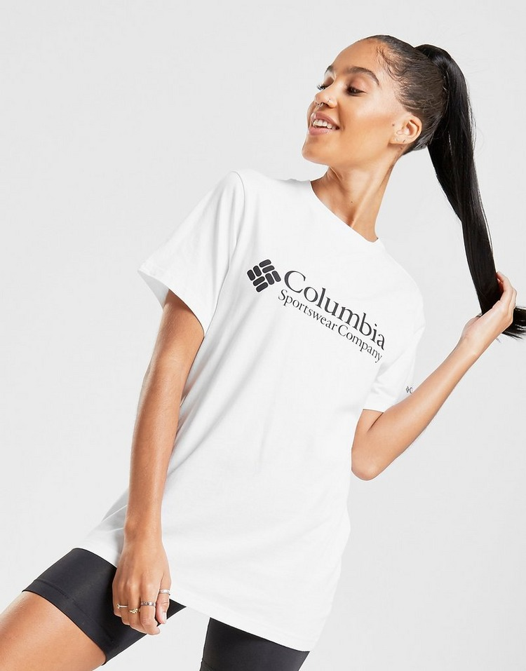 Columbia Logo Boyfriend T-Shirt
