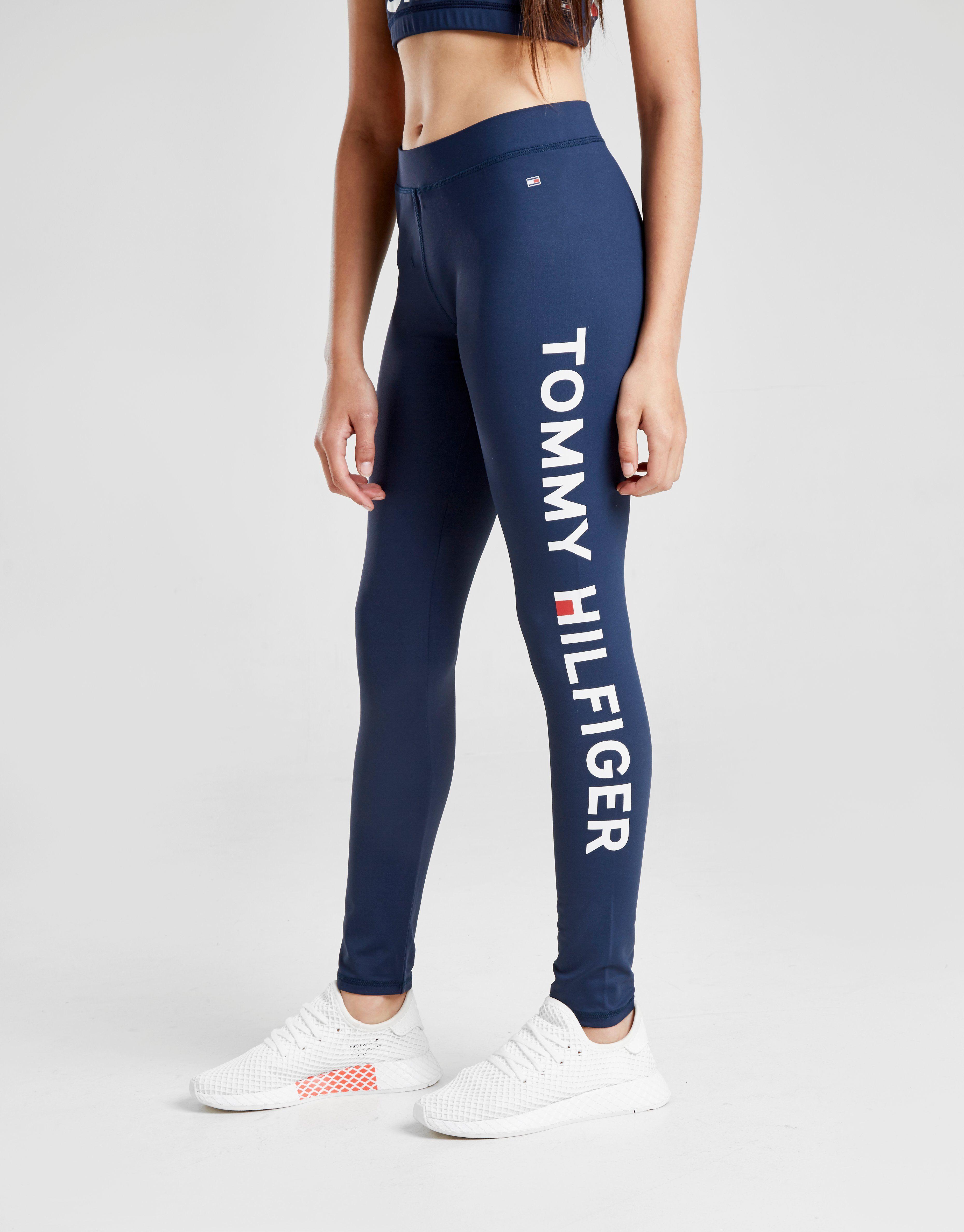 tommy-hilfiger-girls-sport-logo-tights-junior by tommy-hilfiger