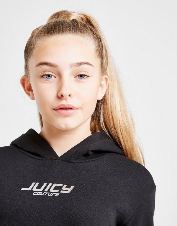 Juicy by Juicy Couture Girls' Juicy Foil Print Hoodie Junior