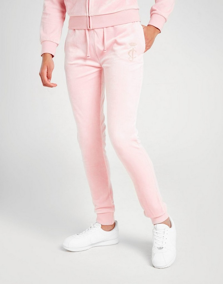 Juicy by Juicy Couture Girls' Velour Joggers Junior