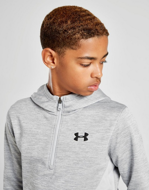 Under Armour Poly Fleece 1/2 Zip Hoodie Junior