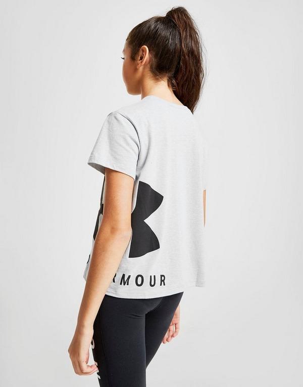 Under Armour Girls' Sport Style Crop T-Shirt Junior