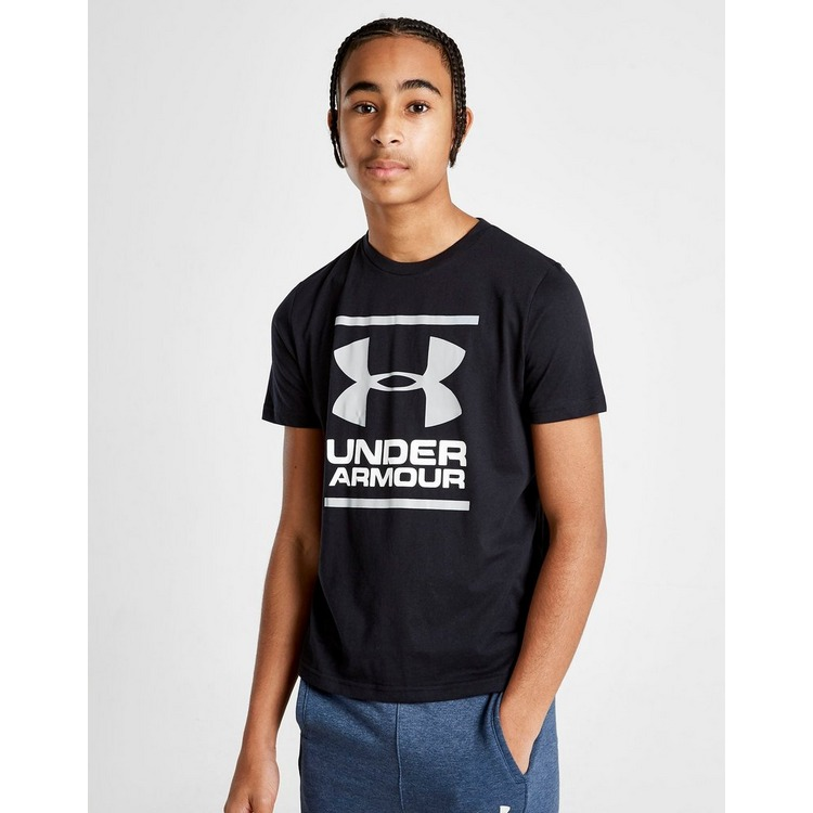 Under Armour camiseta Brand Stack júnior