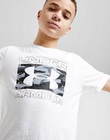 Under Armour camiseta Brand Stack júnior