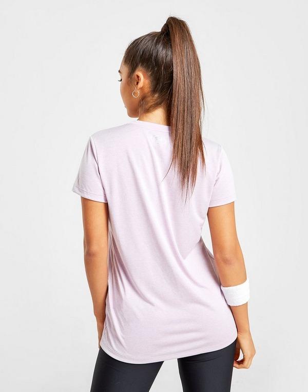 Under Armour Twist Tech V Neck T Shirt Dame