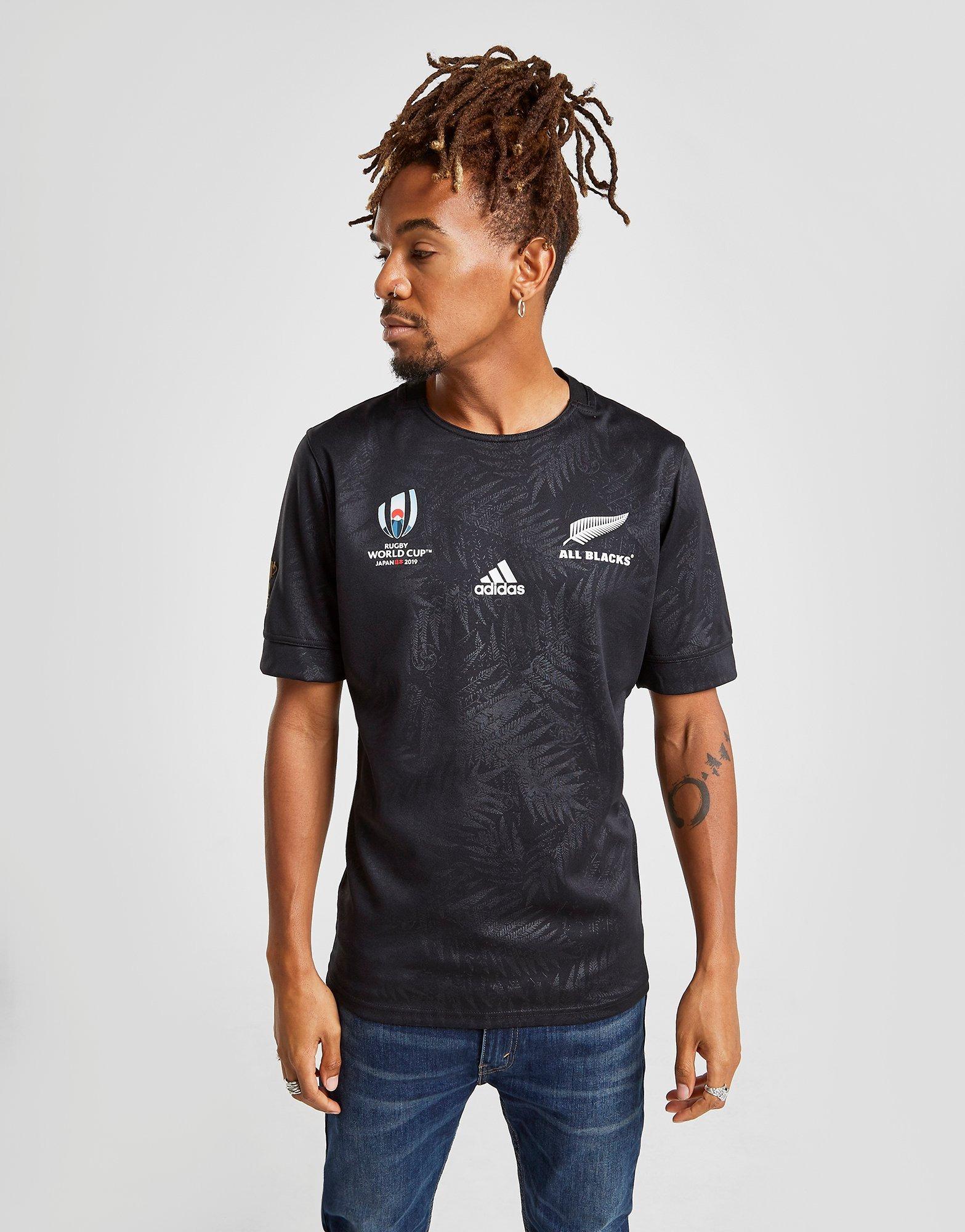 adidas Maillot Domicile All Blacks Coupe du Monde de Rugby 2019 Homme   JD Sports