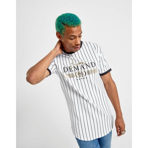 Supply & Demand Retro Pinstripe T-Shirt