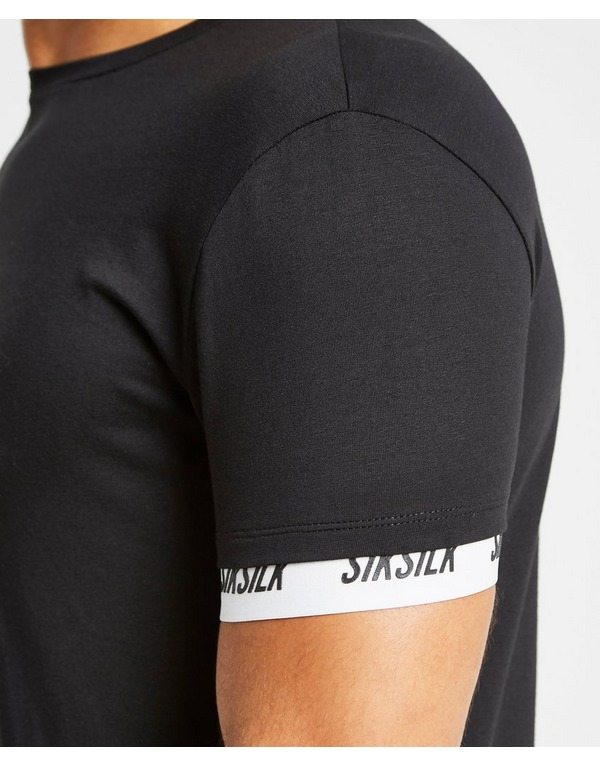 SikSilk Logo Tech Tape T-Shirt