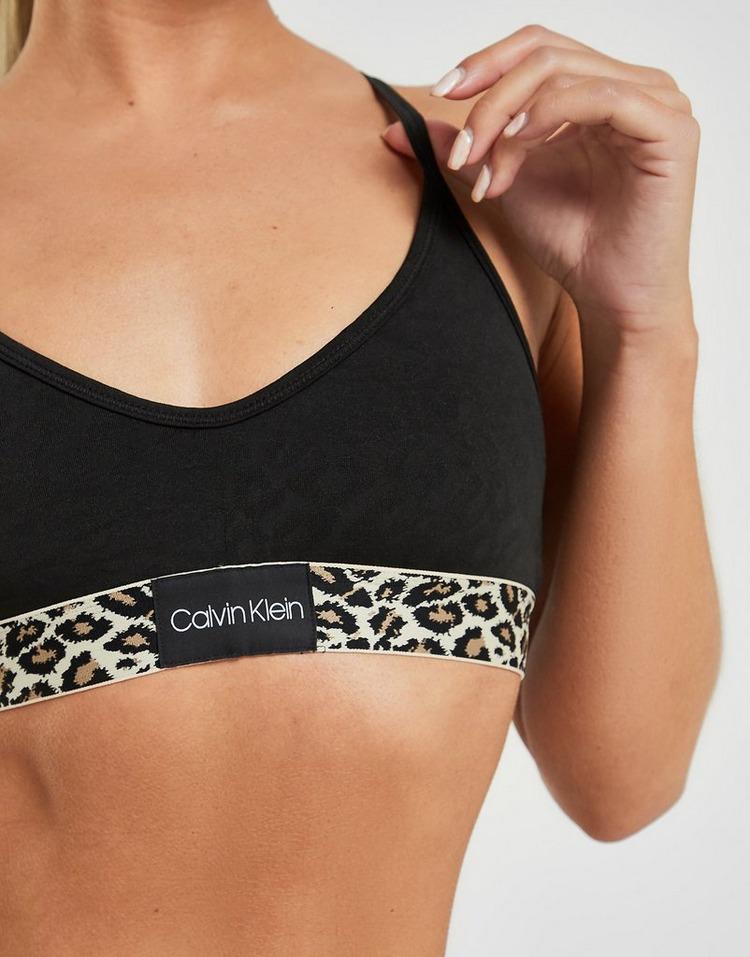 Calvin Klein Underwear Leopard Print Bralette