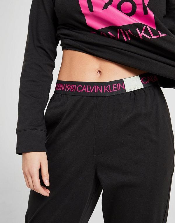 Calvin Klein Long Sleeve Loungewear Set