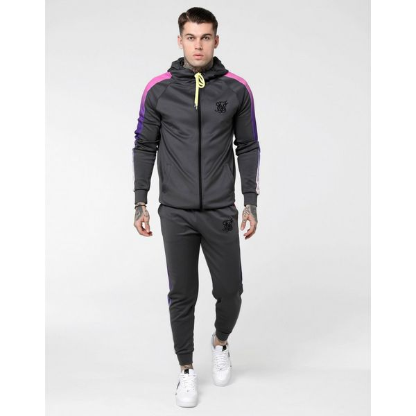 SikSilk chaqueta con capucha Fade Panel