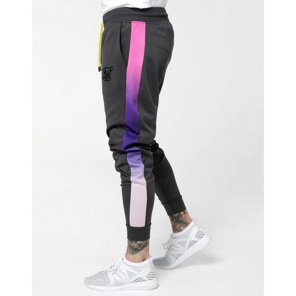 SikSilk pantalón de chándal Fade Panel