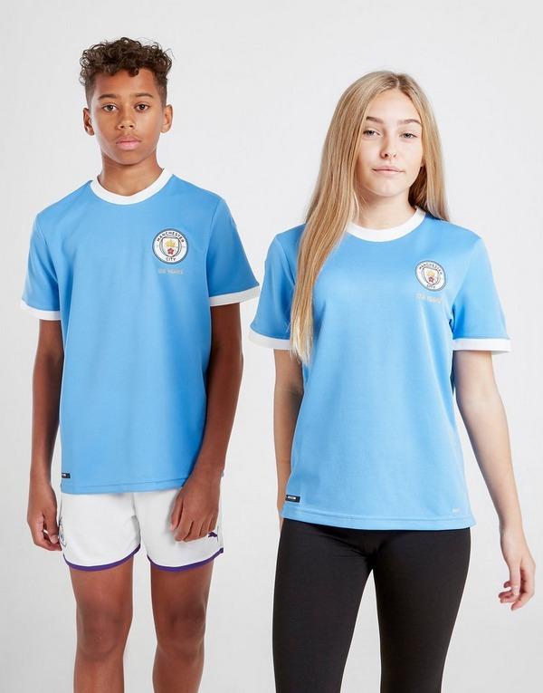 Puma Manchester City FC 125-Year Anniversary Shirt Jnr