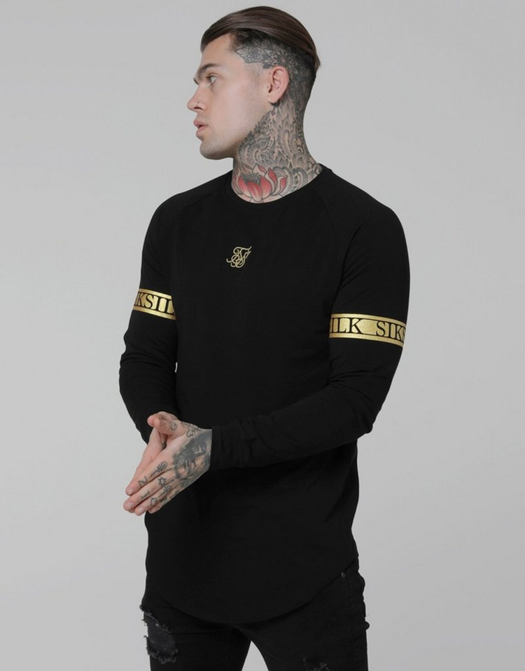 SikSilk Long Sleeve Tech T-Shirt